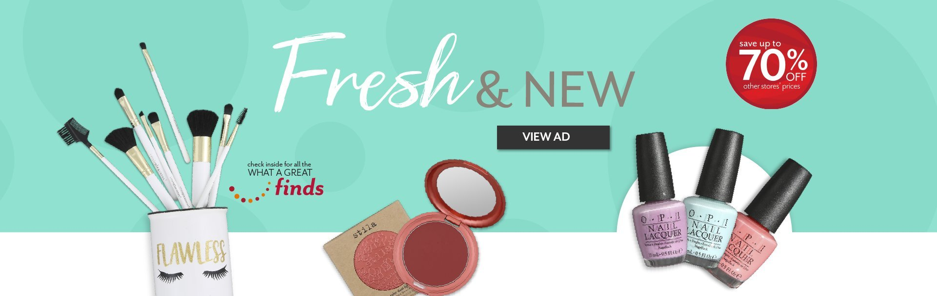 Shop the latest trends in Beauty at Bealls Outlet