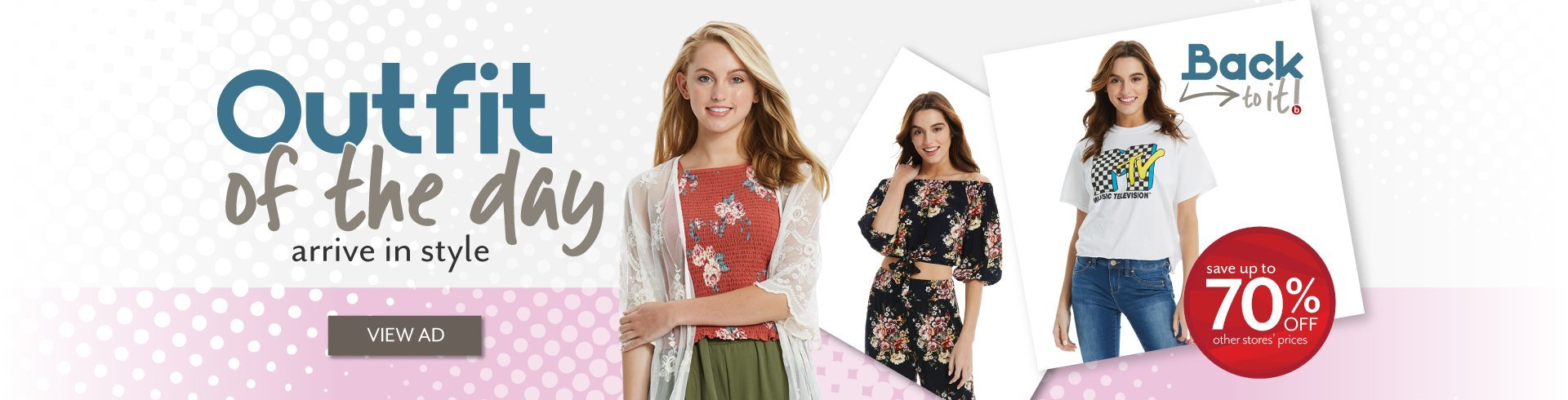 Shop the latest trends in Juniors at Bealls Outlet