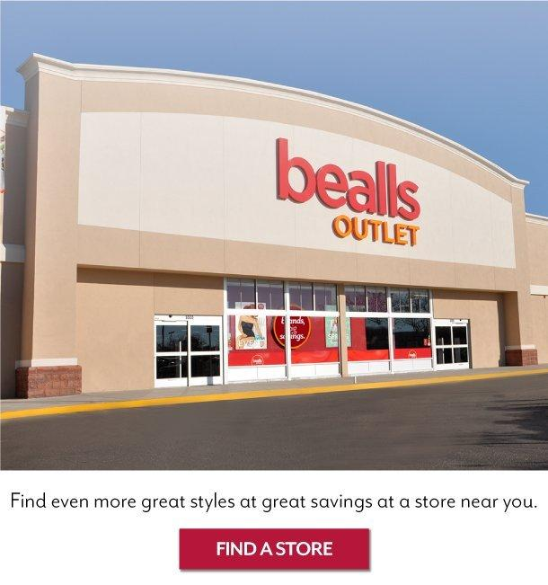 Find the nearest Bealls Outlet