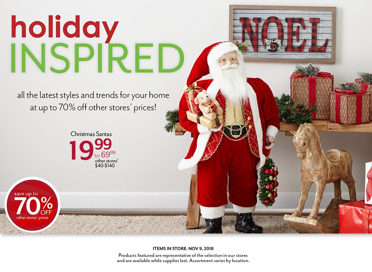 Shop the latest in trends for Christmas Home and Home Decor at Bealls Outlet
