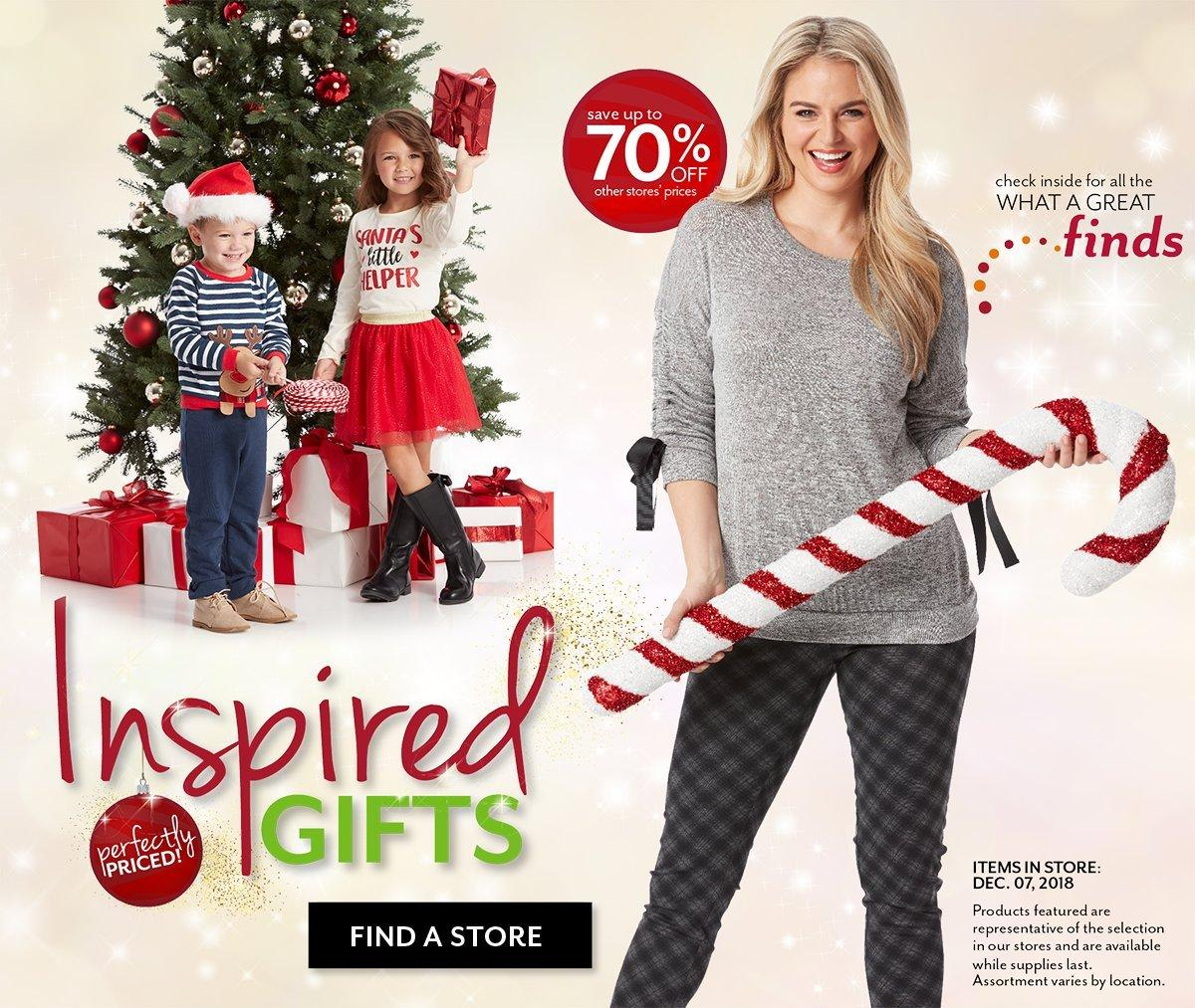 Shop everything on their Christmas Wish Lists at Bealls Outlet